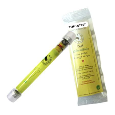 Ethylotest Chimique jetable